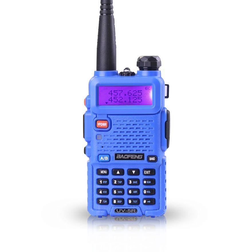 Рация Baofeng UV-5R (синяя)