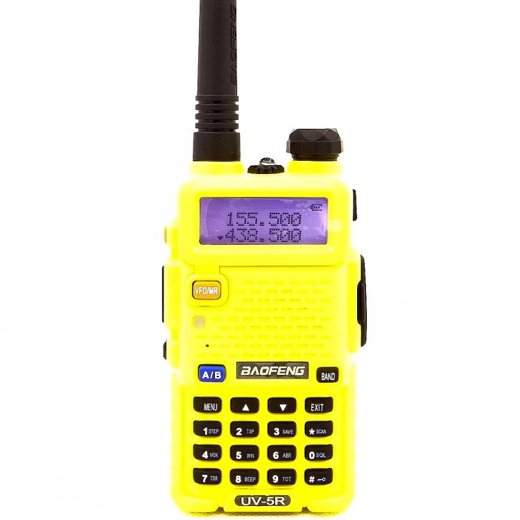 Рация Baofeng UV-5R (жёлтая)