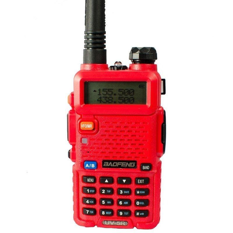 Рация Baofeng UV-5R (красная)